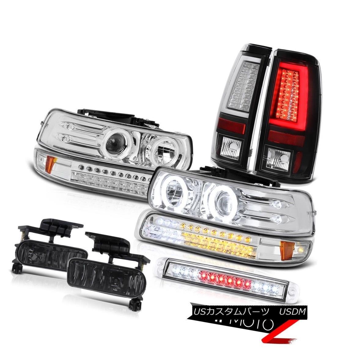 ヘッドライト 1999-2002 Silverado LS Taillights High Stop Lamp Signal Headlights Fog Lamps LED 1999-2002 Silverado LS灯台ハイストップランプ信号ヘッドライトフォグランプLED