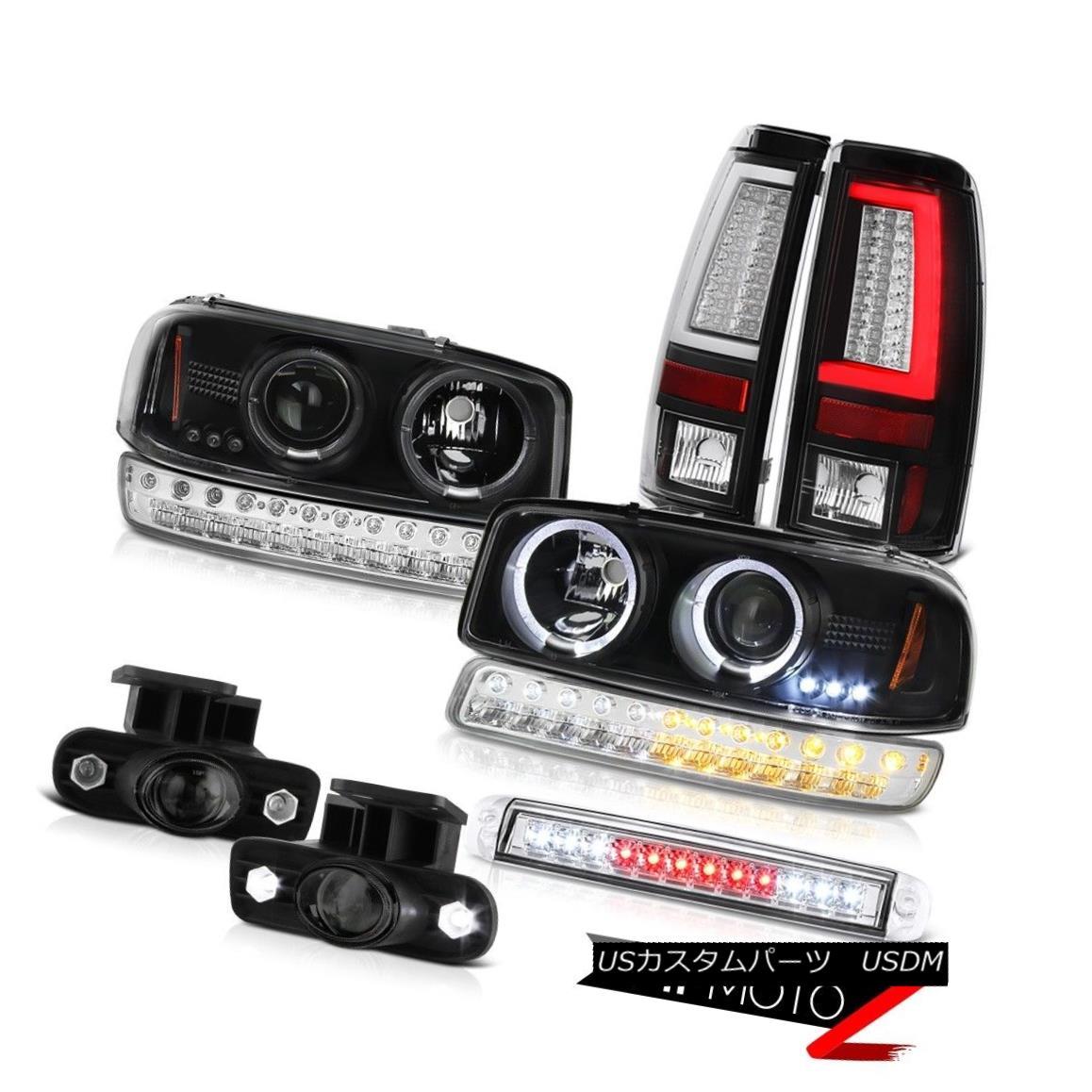 ヘッドライト 99-02 Sierra SLt Tail Lights Roof Cab Lamp Fog Lamps Signal Light Headlights LED 99-02 Sierra SLtテールライトルーフキャブランプフォグランプ信号ライトヘッドライトLED