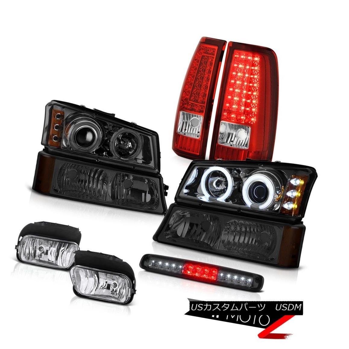 ヘッドライト 03-06 Silverado 1500 Third Brake Light Foglamps Red Rear Lamps Signal Headlights 03-06 Silverado 1500第3ブレーキライトフォグランプレッドリアライトシグナルヘッドライト