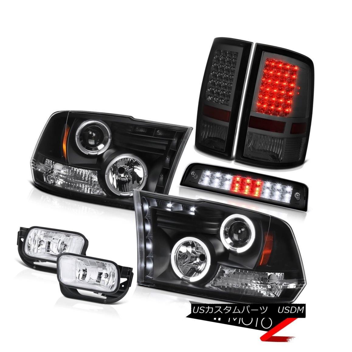 ヘッドライト 2010-2018 Ram 2500 6.7L Roof Cab Light Fog Lights Taillamps Headlights Halo Ring 2010-2018 Ram 2500 6.7LルーフキャブライトフォグライトタイルランプヘッドライトHalo Ring