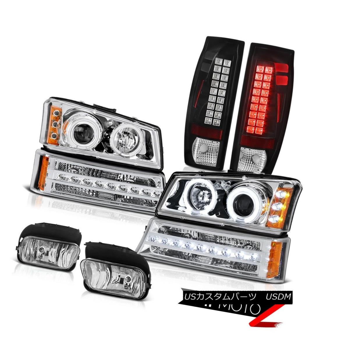 ヘッドライト 03-06 Avalanche 2500 Euro Chrome Foglights Taillamps Parking Lamp Headlamps SMD 03-06雪崩2500ユーロクロムフォグライトタイルランプパーキングランプヘッドランプSMD