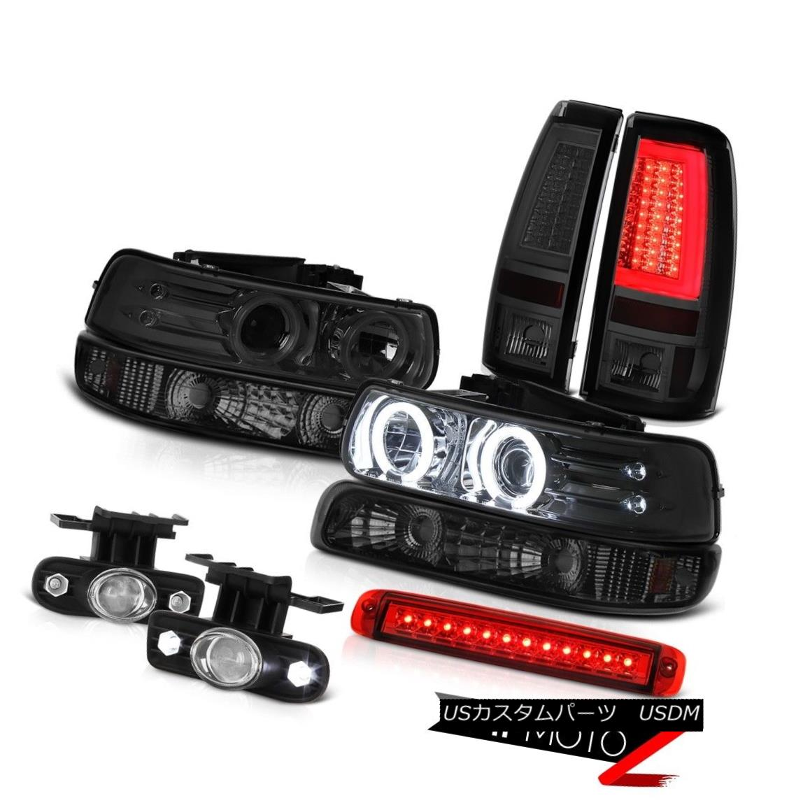ヘッドライト 99-02 Silverado 4.3L Taillights Third Brake Lamp Signal Headlamps Foglights Cool 99-02 Silverado 4.3Lターンライト第3ブレーキランプ信号ヘッドランプフォグライトクール