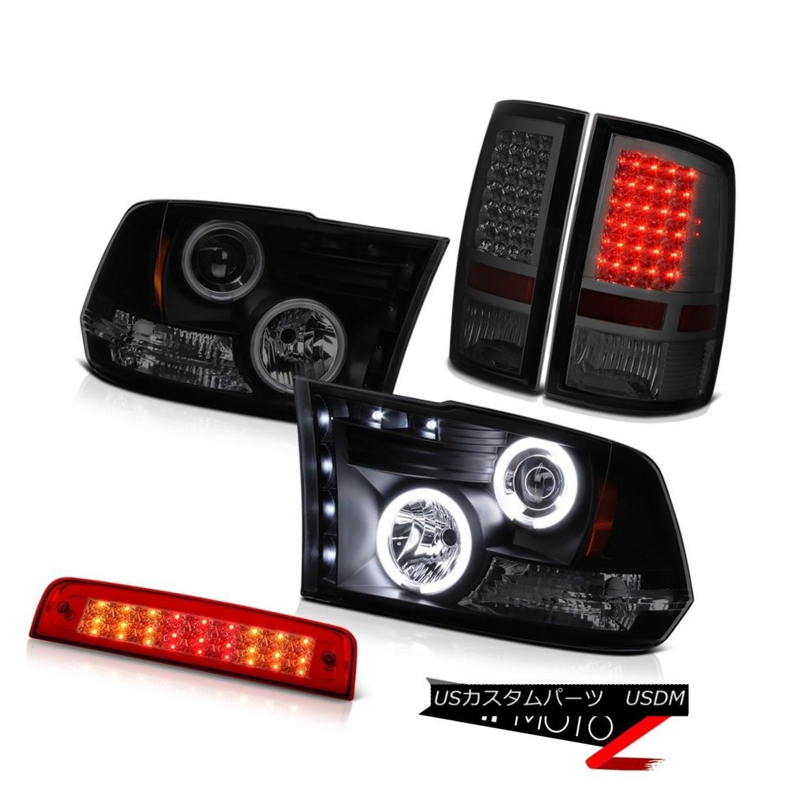 ヘッドライト 2010-2018 Ram 3500 6.7L Wine Red Third Brake Lamp Tail Lights Headlights NeweST 2010-2018 Ram 3500 6.7Lワインレッド第3ブレーキランプテールライトヘッドライトNeweST