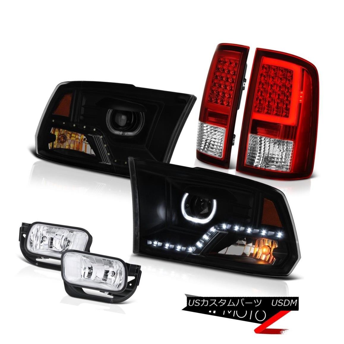 ヘッドライト 09 10 11 12 13-18 Dodge RAM 2500 3500 Fiber Optic Tail Light Head Lamps Driving 09 10 11 12 13-18 Dodge RAM 2500 3500光ファイバーテールライトヘッドランプ