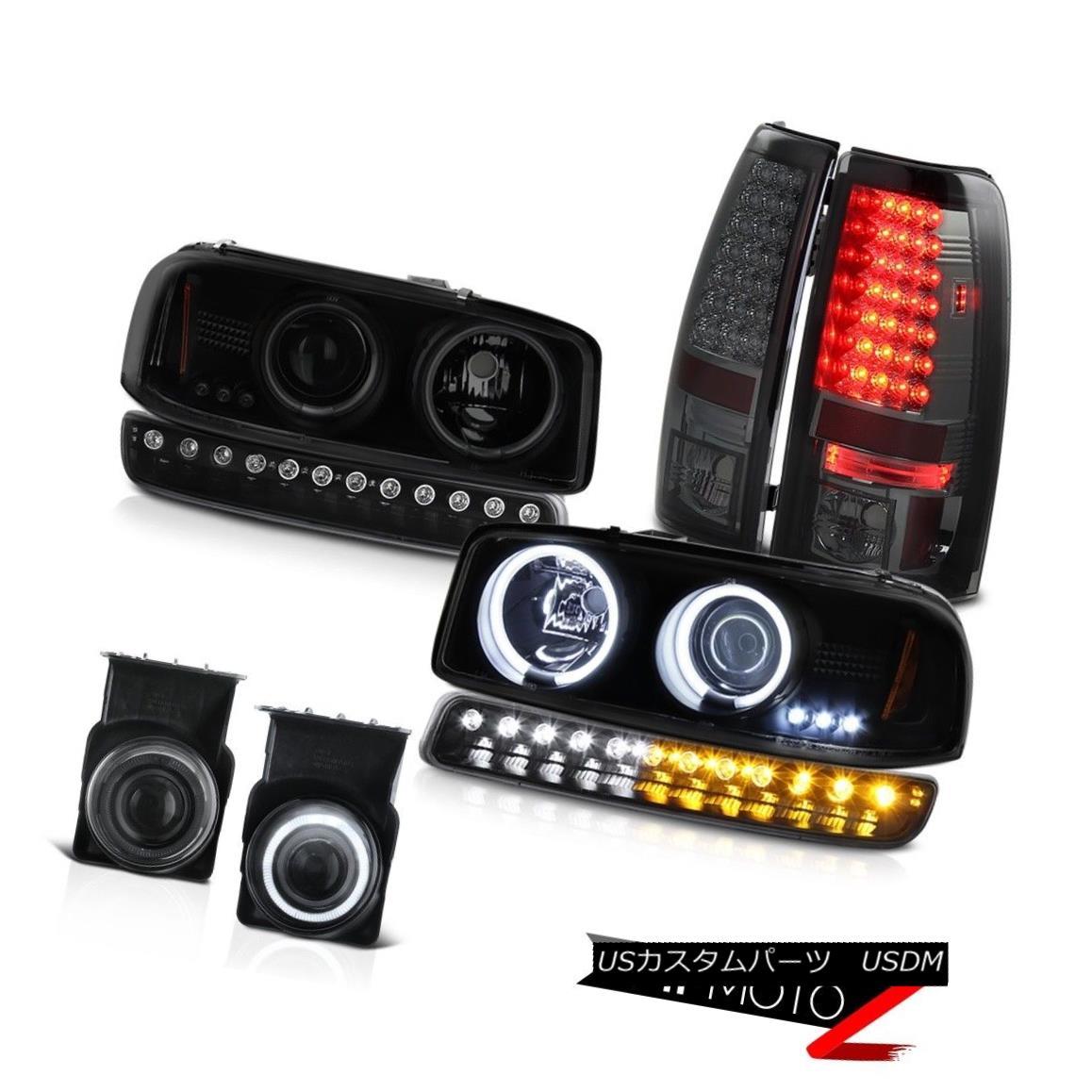 ヘッドライト 03-06 Sierra WT Foglamps taillights nighthawk black signal light ccfl headlamps 03-06シエラWTフォグランプテールライト夜間信号黒信号ccflヘッドライト