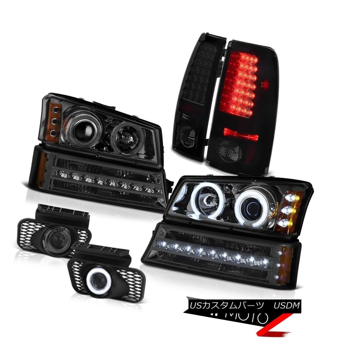 ヘッドライト 03-06 Silverado 2500HD Phantom smoke foglights taillamps turn signal headlamps 03-06シルバラード2500HDファントム・スモッグ・フォグライト・テールランプターン・シグナル・ヘッドランプ