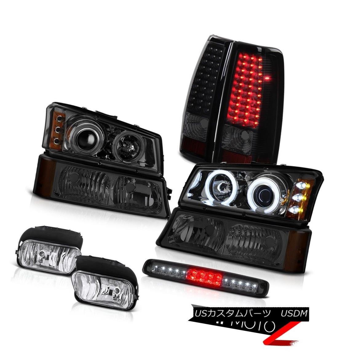 ヘッドライト 03-06 Silverado Euro Clear Foglights Signal Light Roof Cab Taillamps Headlights 03-06シルバラードユーロクリアフォグライトシグナルライトルーフキャブタイルランプヘッドライト