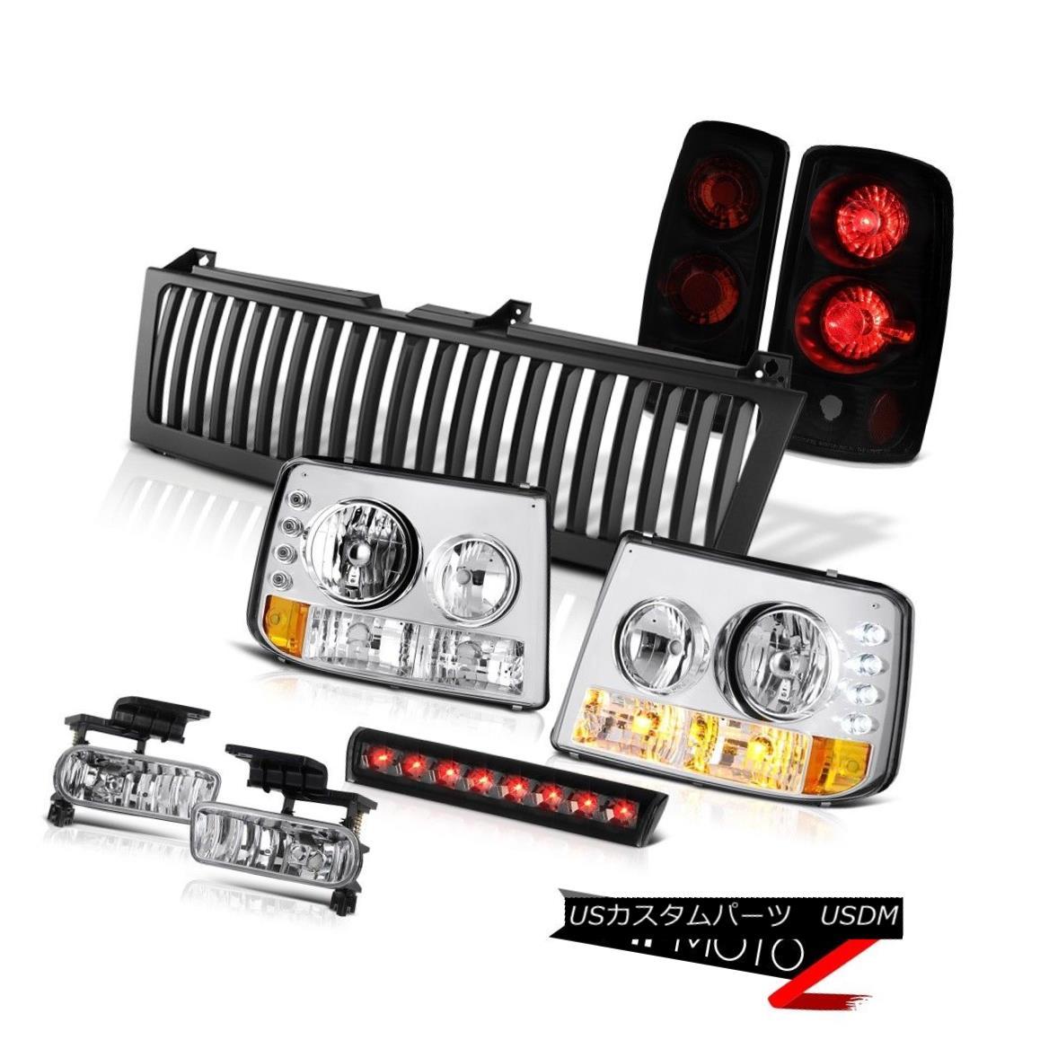 ヘッドライト Parking Headlamps Sinister Black 3rd Lights Fog Third Cargo LED 2000-06 Tahoe LS パーキングヘッドランプSinister Black第3ライトフォグ第3カーゴLED 2000-06 Tahoe LS