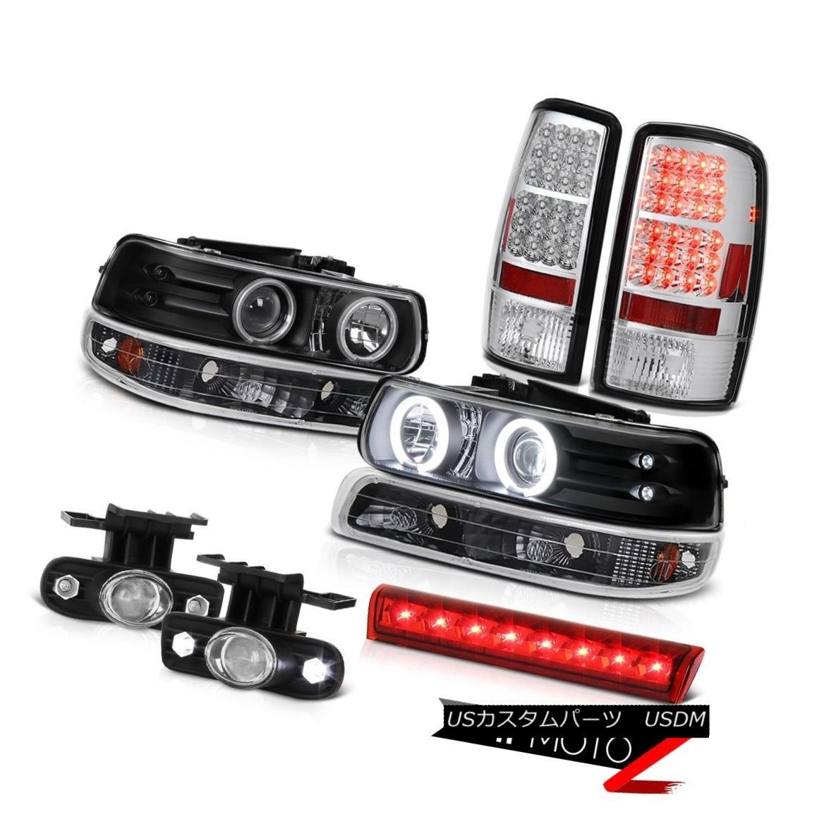 ヘッドライト 2000-2006 Chevy Tahoe 4X4 Third brake light foglamps rear lamps signal Headlamps 2000-2006シボレータホ4X4第3ブレーキライトフォグランプリア・ランプ信号ヘッドランプ