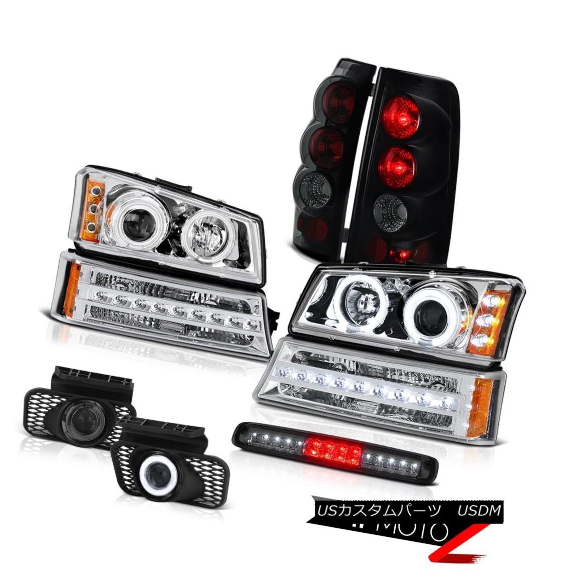 ヘッドライト 03-06 Silverado 2500Hd Roof Brake Lamp Fog Lamps Signal Headlamps Tail Lights 03-06 Silverado 2500Hd屋根用ブレーキランプフォグランプ信号ヘッドライトテールライト