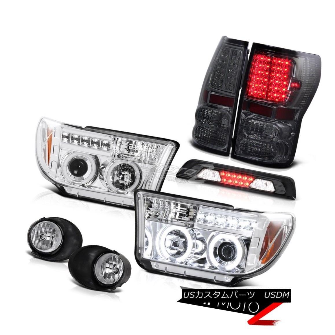 ヘッドライト 07-13 Toyota Tundra Limited Foglamps 3RD Brake Lamp Rear Lights Headlamps LED 07-13 Toyota Tundra Limitedフォグランプ3RDブレーキランプリアライトヘッドランプLED