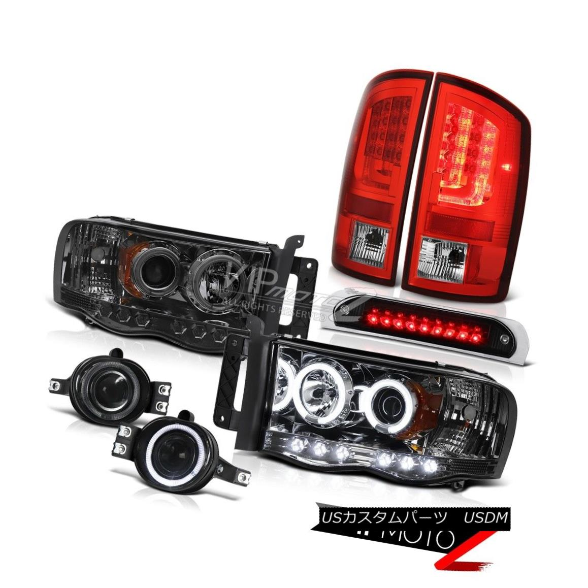 ヘッドライト 02-05 Dodge Ram 1500 1500 4.7L Tail Lamps 3RD Brake Light Headlamps Fog Lights 02-05 Dodge Ram 1500 1500 4.7Lテールランプ3RDブレーキライトヘッドランプフォグライト