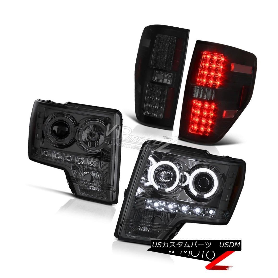 ヘッドライト 09-14 Ford F150 CCFL Halo Headlight