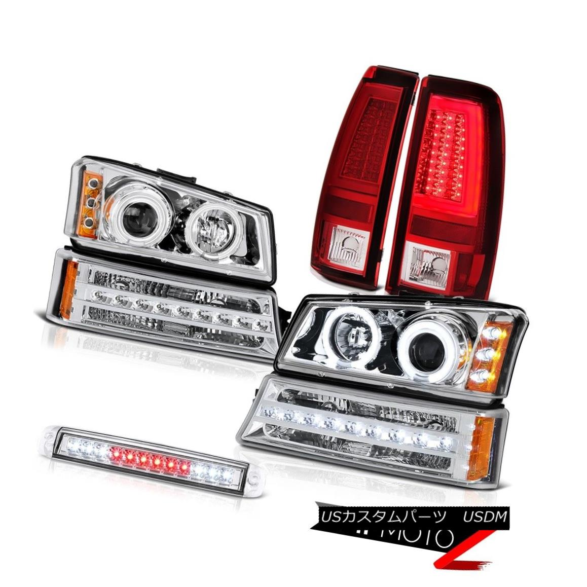 ヘッドライト 03-06 Silverado 3500Hd Taillamps High Stop Lamp Bumper Headlamps