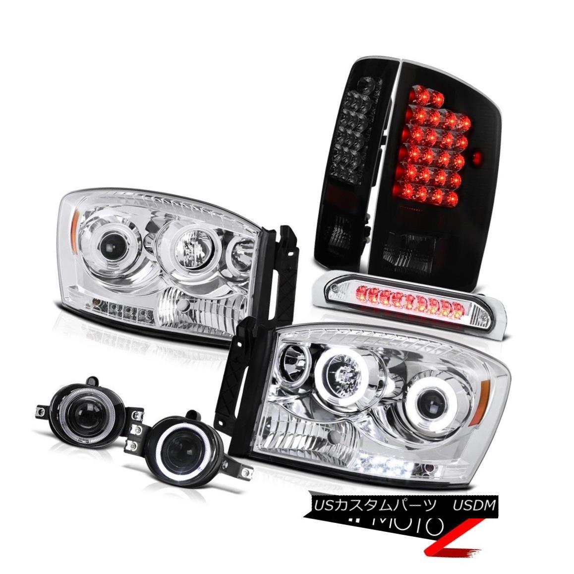 ヘッドライト [BRIGHTEST]LED Tail Lamp Third Brake CCFL Halo Projector Headlight Fog Magnum V8 [明るく] LEDテールランプ第3ブレーキCCFLハロープロジェクターヘッドライトフォグマグナムV8