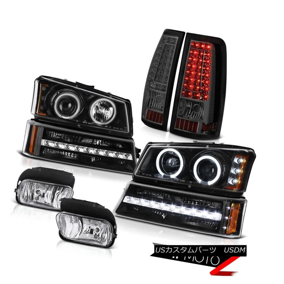 ヘッドライト 2003-2006 Chevy Silverado Chrome Fog Lamps Taillights Bumper Lamp Headlamps LED 2003-2006シボレーシルバラードクロームフォグランプテールライトバンパーランプヘッドランプLED