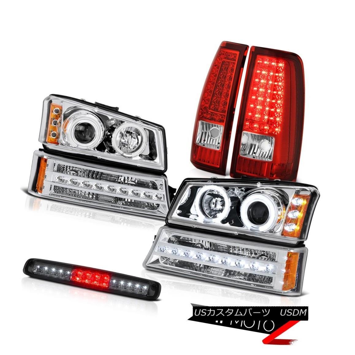 ヘッドライト 2003-2006 Silverado 1500 Smokey Roof Cargo Lamp Taillamps Turn Signal Headlights 2003-2006シルバラード1500スモーキールーフカーゴランプタイルランプターンシグナルヘッドライト