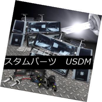 ヘッドライト FITS 94-98 C10 SUBURBAN SMOKED HEADLIGHT/BUMPER/CORNER 8 PCS+9006 6000K SLIM HID FITS 94-98 C10 SUBURBAN SMOKEDヘッドライト/ BUMP  ER / CORNER 8 PCS + 9006 6000KスリムHID