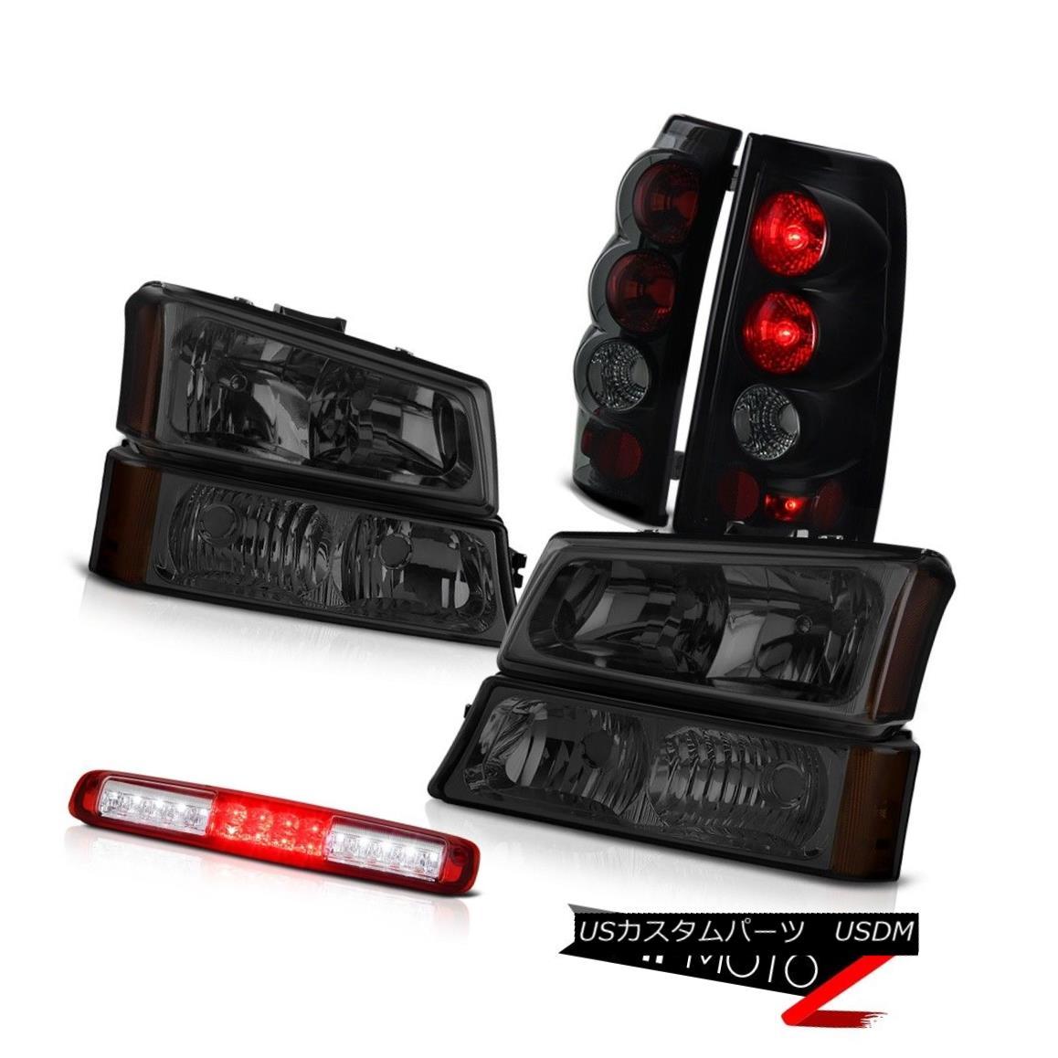 ヘッドライト 03-06 Chevy Silverado 1500 Bumper Lamp Red Clear Roof Cab Headlights Tail Lamps 03-06 Chevy Silverado 1500バンパーランプ赤いクリア屋根キャブのヘッドライトテールランプ