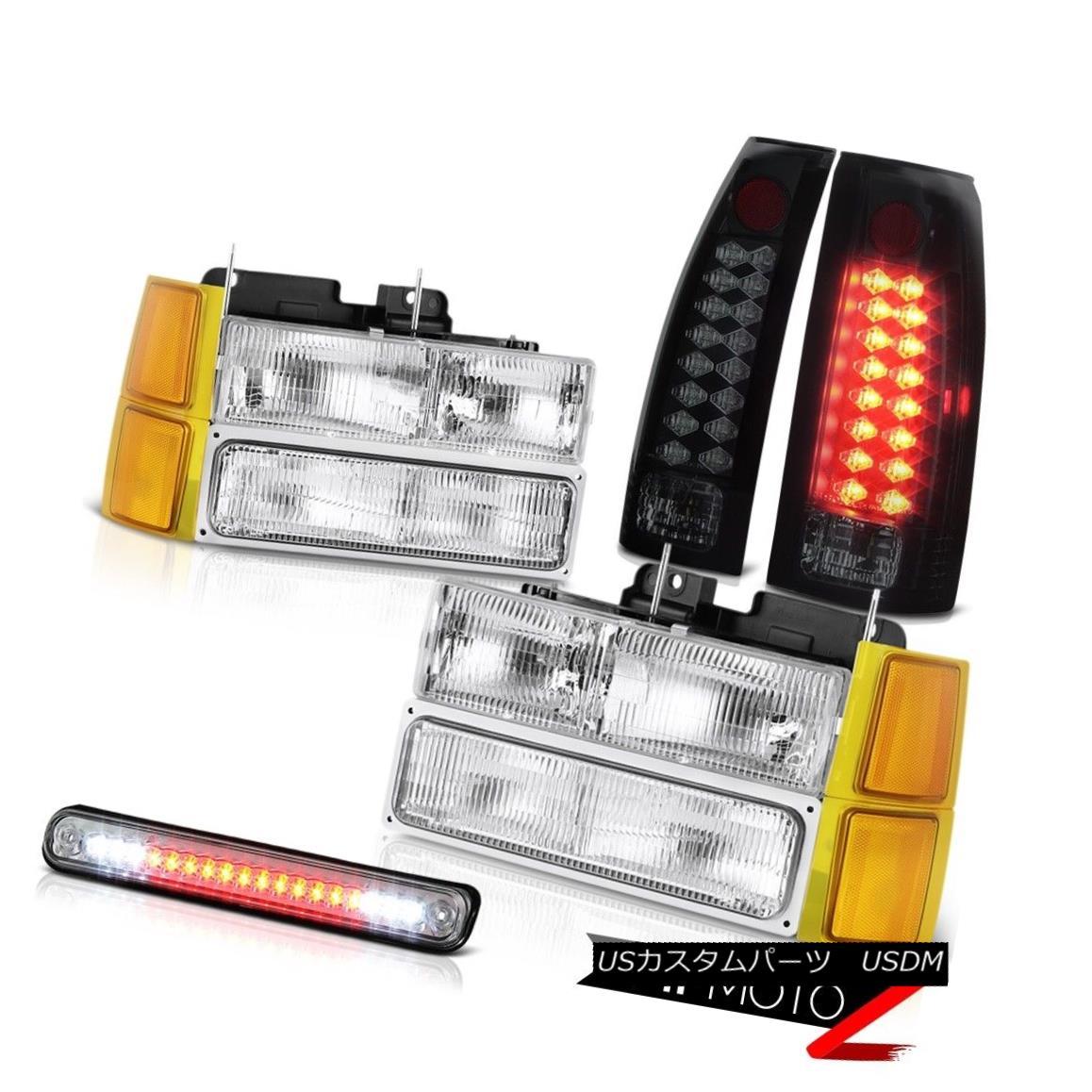 ヘッドライト 94 95 96 97 98 Chevy K1500 Headlights corner 3rd brake lamp rear Lights Assembly 94 95 96 97 98 Chevy K1500ヘッドライトコーナー第3ブレーキランプリアライトアセンブリ