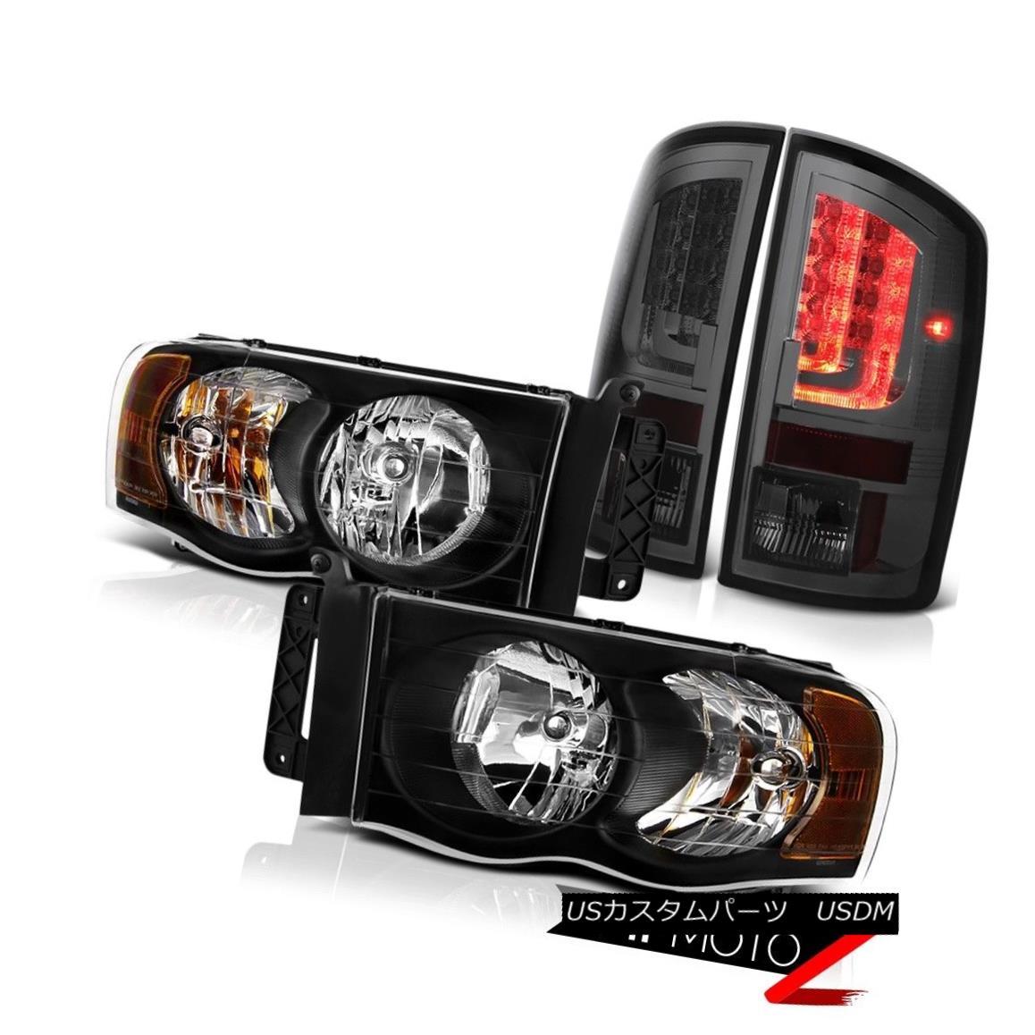 ヘッドライト 2003-2005 Dodge Ram 3500 WS Tail Brake Lamps Headlamps