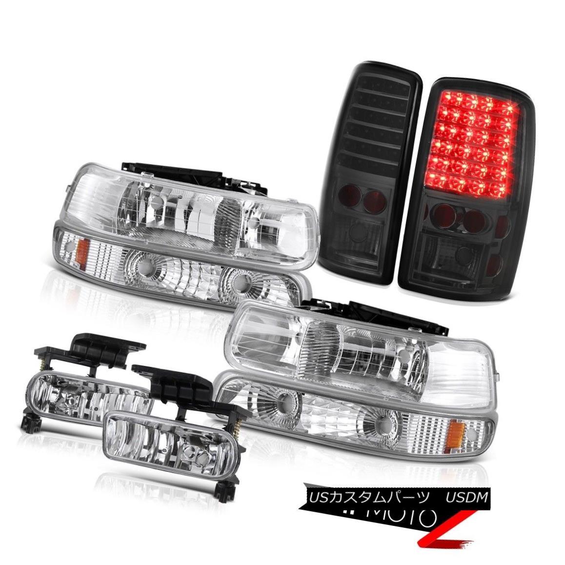 ヘッドライト Euro Headlight Smoke LED Taillight 00 01 02 03 04 05 06 Suburban 8.1L Bumper Fog ユーロヘッドライト煙LEDテールライト00 01 02 03 04 05 06郊外8.1Lバンパーフォグ