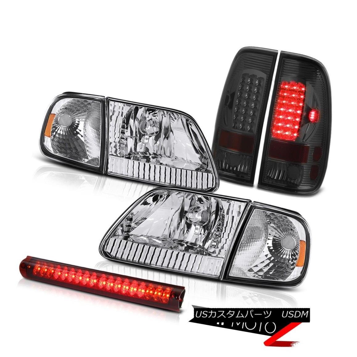 ヘッドライト Left Right Headlights Corner Parking Tail Lights Roof Brake LED 1997-2003 F150 左右ヘッドライトコーナーパーキングテールライトルーフブレーキLED 1997-2003 F150