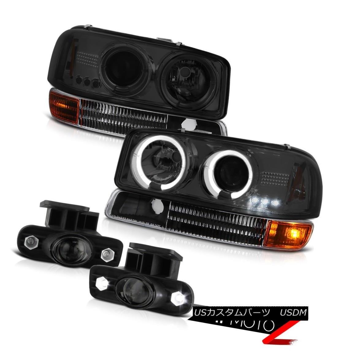 ヘッドライト 01 02 03 04 05 06 Yukon Halo LED Projector Headlight Signal Switch Relay FogLamp 01 02 03 04 05 06ユーコンヘイローLEDプロジェクターヘッドライト信号スイッチリレーFogLamp