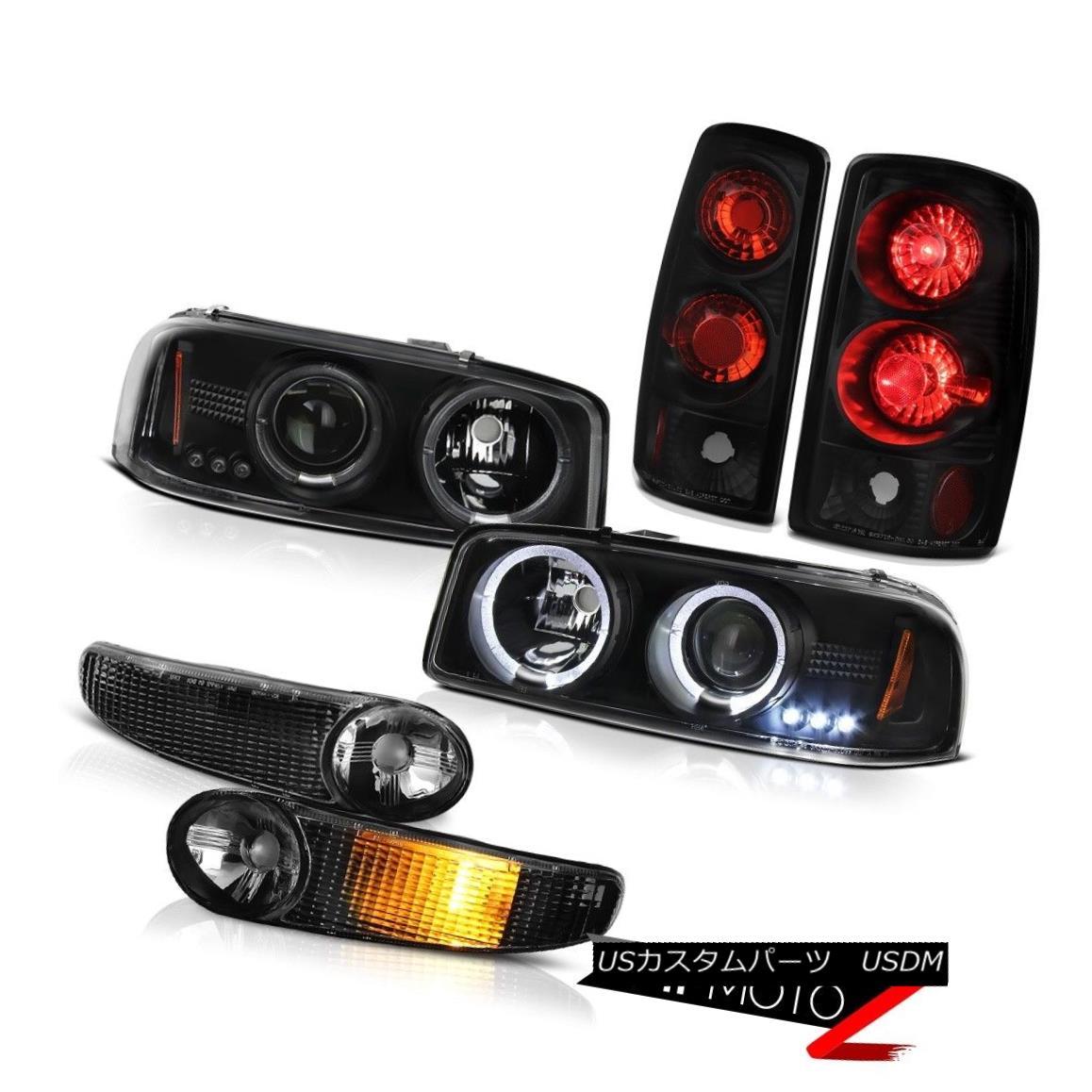 ヘッドライト Halo LED Projector Headlight Denali Bumper Signal Tail Lamp 01 02 03 04 05 Yukon Halo LEDプロジェクターヘッドライトDenaliバンパー信号テールランプ01 02 03 04 05ユーコン