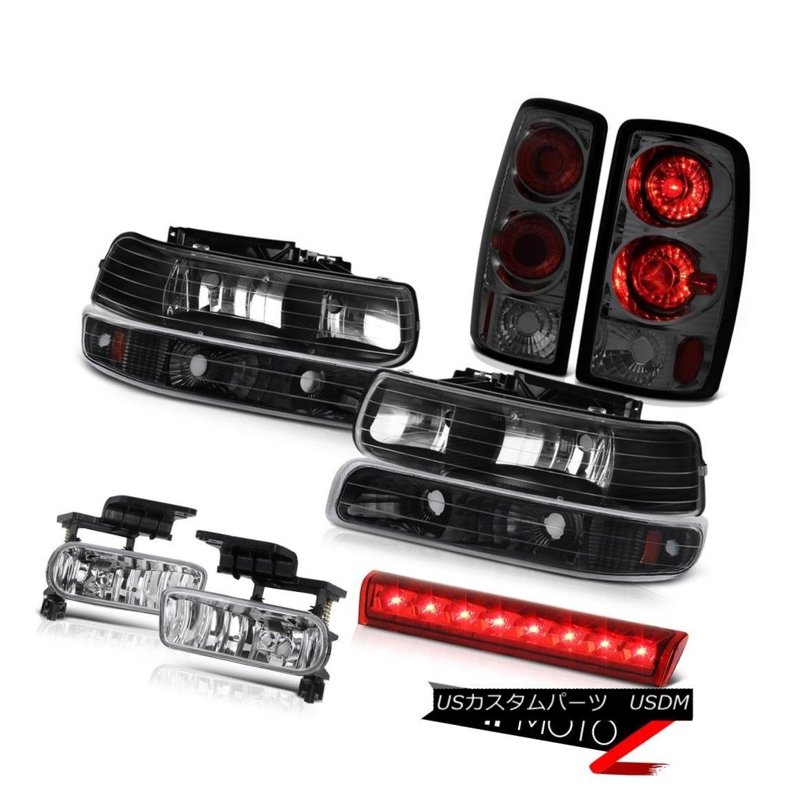 ヘッドライト 00-06 Chevy Tahoe Z71 Red roof cargo light fog lights parking brake Headlamps 00-06 Chevy Tahoe Z71レッドルーフカーゴライトフォグライトパーキングブレーキヘッドランプ
