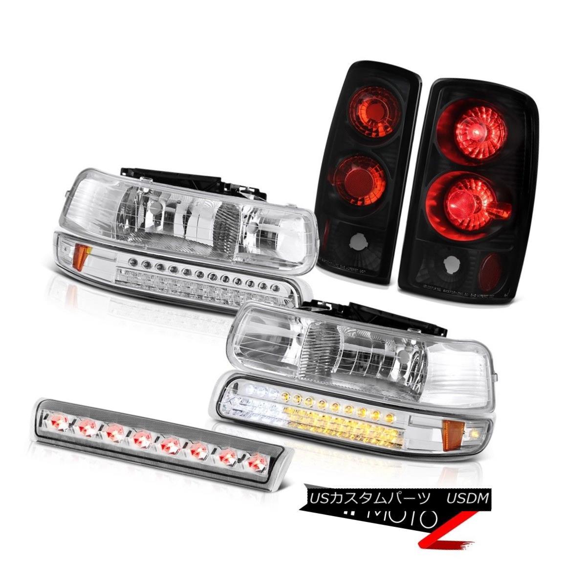 ヘッドライト 00 01 02 03 04 05 06 Tahoe LED Parking Headlight Black Reverse Light Brake Cargo 00 01 02 03 04 05 06タホーパーキングヘッドライトブラック逆光ブレーキ貨物