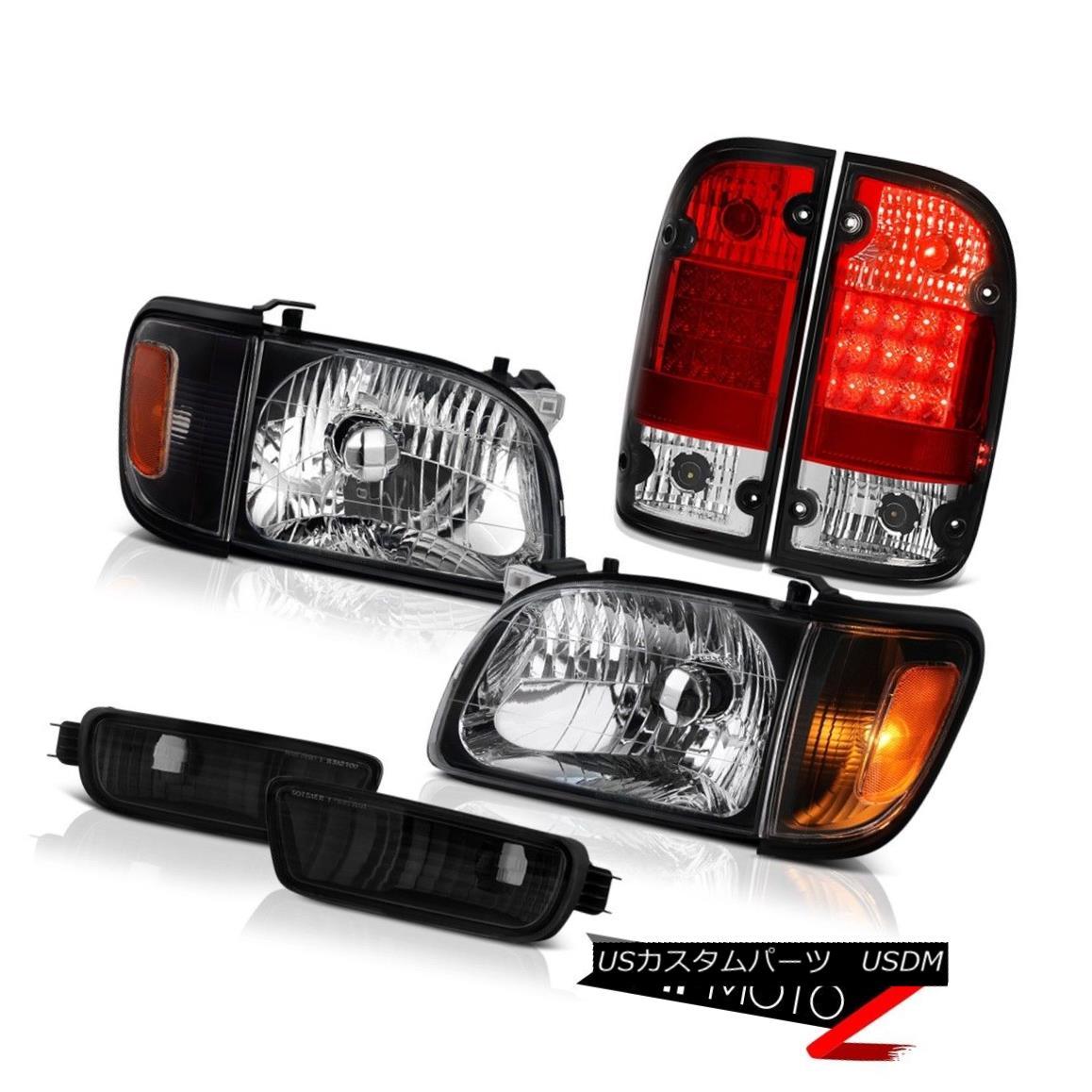ヘッドライト 01 02 03 04 Toyota Tacoma 4WD Rosso red taillamps raven black headlights bumper 01 02 03 04トヨタタコマ4WDロッソレッドテールランプラベンネブラックヘッドライトバンパー