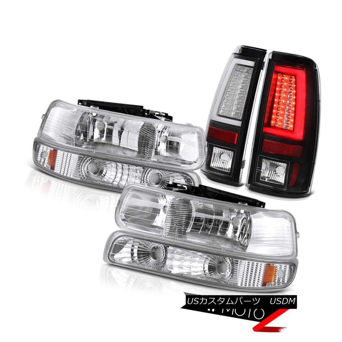 ヘッドライト 99-02 Silverado WT Taillamps Sterling Chrome Headlamps