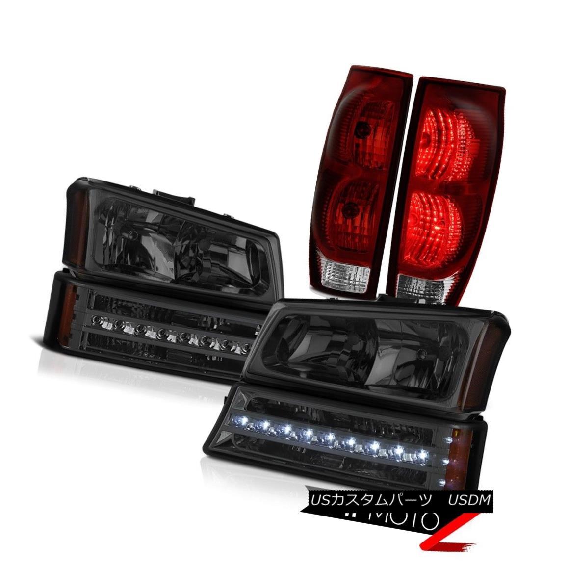 ヘッドライト 03 04 05 06 Chevy Avalanche 2500HD Tail Brake Lights Parking Lamp Headlamps LED 03 04 05 06シボレーアバランチ2500HDテールブレーキライトパーキングランプヘッドランプLED