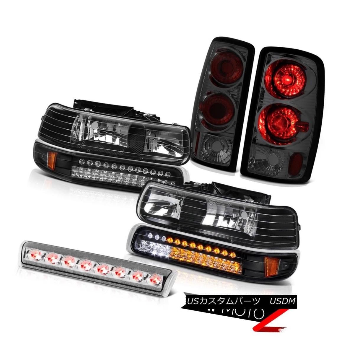 ヘッドライト 2000-2006 Suburban 6.0L Bumper DRL Parking Headlamps Brake Lamp Third Brake LED 2000-2006郊外6.0LバンパーDRLパーキングヘッドランプブレーキランプ第3ブレーキLED