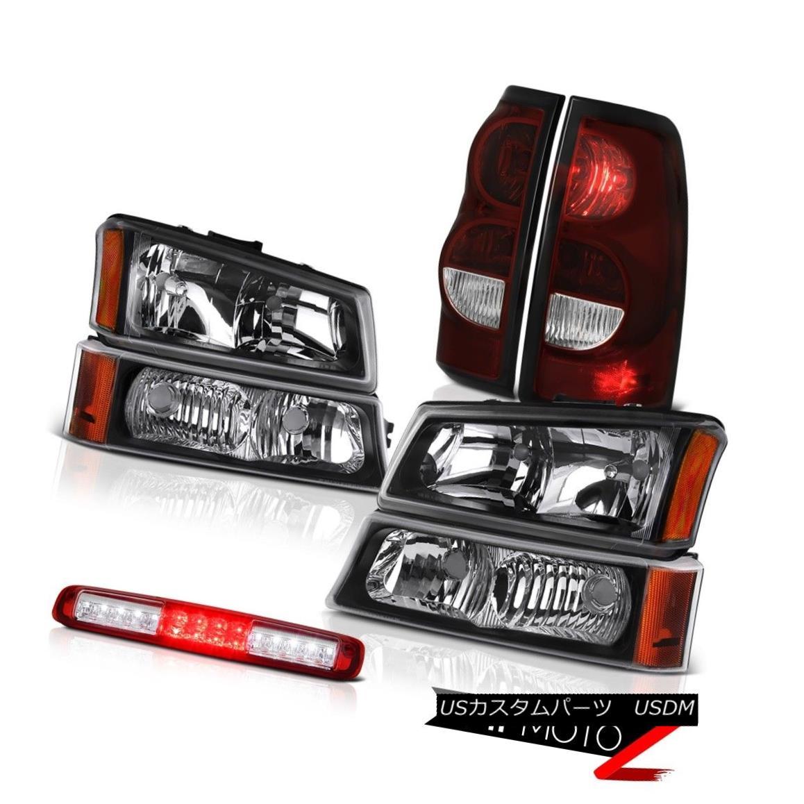 ヘッドライト 03 04 05 06 Silverado Roof Cab Lamp Rear Brake Lights Headlights LED Assembly 03 04 05 06 SilveradoルーフキャブランプリアブレーキライトヘッドライトLEDアセンブリ
