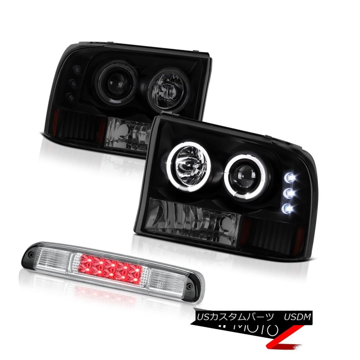 ヘッドライト L.E.D Projector DRL Headlight Roof Brake Cargo LED 1999-2004 F250 SuperDuty 6.8L L.E.DプロジェクターDRLヘッドライトルーフブレーキカーゴLED 1999-2004 F250 SuperDuty 6.8L