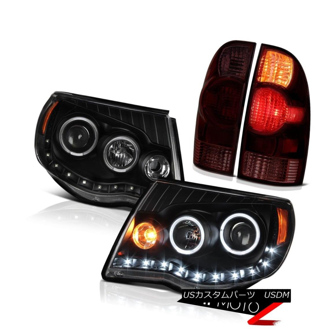 ヘッドライト 2005-2011 Tacoma PreRunner Taillights infinity black headlights LED Replacement 2005-2011 Tacoma PreRunnerテールライト無限黒色ヘッドライトLED交換