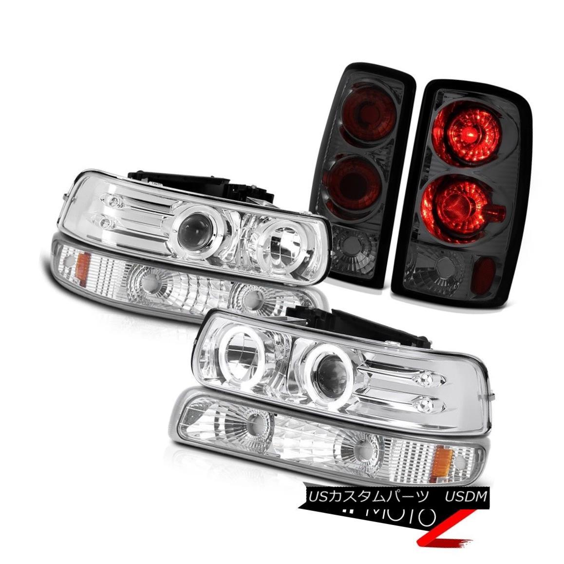ヘッドライト 00 01 02 03 04 05 06 Tahoe 5.3L LED Headlights Chrome Parking Smoke Tail Lamps 00 01 02 03 04 05 06タホー5.3L LEDヘッドライトクロームパーキング煙テールランプ
