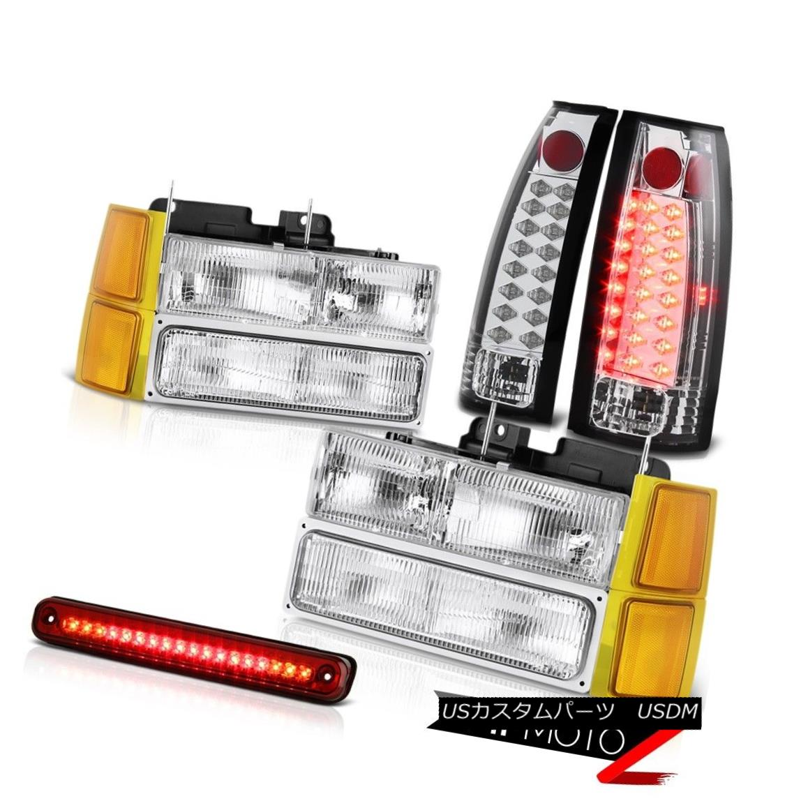 ヘッドライト 94-98 Chevy C2500 Headlights corner roof cab lamp taillights LED