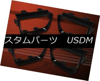 テールライト 2010-2013 CHEVROLET CAMARO BEZEL FOR TAIL LIGHTS BLACK LIGHT GLOSSY 4 PCS 2010年から2013年シボレーカメルベールテールライトBLACK LIGHT GLOSSY 4 PCS