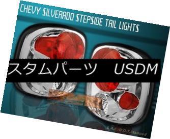 テールライト 99-04 CHEVY SILVERADO SIERRA STEPSIDE TAIL LIGHTS CLEAR 99-04 CHEVY SILVERADO SIERRAステープライドテールライトクリア