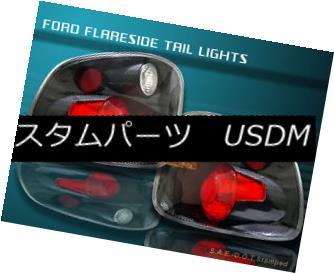 テールライト 2001-2003 FORD F150 F-150 FLARESIDE CARBON FIBER TAIL LIGHTS 2001 2002 2003 2001-2003フォードF150 F-150フレアサイドカーボンファイバーテールライト2001 2002 2003