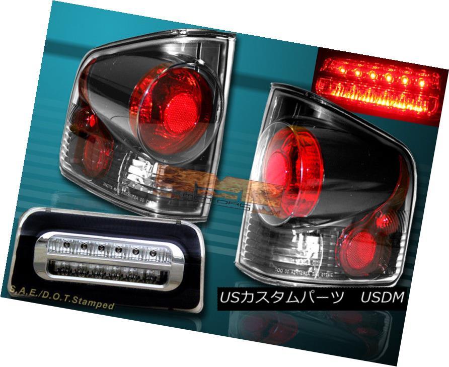 テールライト 1994-2004 CHEVY S10 SONOMA TAIL LIGHTS 3D STYLE DARK SMOKE + 3RD BRAKE LIGHT NEW 1994-2004 CHEVY S10 SONOMAテールライト3Dスタイルダークソーク+ 3速ブレーキライト