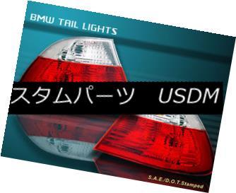 テールライト 1999 2000 2001 2002 2003 BMW E46 325 330 328 TAIL LIGHTS 2 DOORS RED CLEAR 1999 2000 2001 2002 2003 BMW E46 325 330 328テールライト2ドア赤色クリア