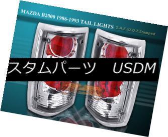 テールライト 86-93 MAZDA B2000 B2200 B2600 TAIL LIGHTS CHROME LAMPS 92 91 90 89 86-93 MAZDA B2000 B2200 B2600テールライトクロームランプ92 91 90 89