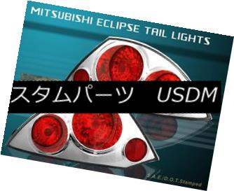 テールライト 2000 2001 2002 Mitsubishi Eclipse Altezza Tail Lights Chrome 2000 2001 2002三菱Eclipse Altezzaテールライトクローム