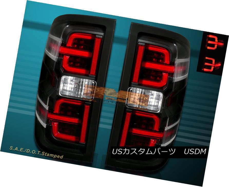 テールライト Black Housing G2 14-16 Chevy Silverado 1500 15-16 2500HD 3500HD LED Tail lights ブラックハウジングG2 14-16 Chevy Silverado 1500 15-16 2500HD 3500HD LEDテールライト