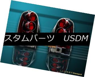 テールライト 97-04 MONTANA VENTURE OLDS SILHOUETTE TAIL LIGHTS BLACK 98 99 00 01 02 03 97-04 MONTANA VENTURE OLDSシルエットテールライトブラック98 99 00 01 02 03