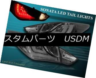 テールライト 11-13 SONATA TAIL LIGHTS NEW SMOKE LED 4 PCS 2011-2013 11-13 SONATAテールライトNEW SMOKE LED 4 PCS 2011-2013